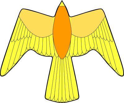 翼長88cm高高度仕様ハヤブサ急降下(黄)タイプ