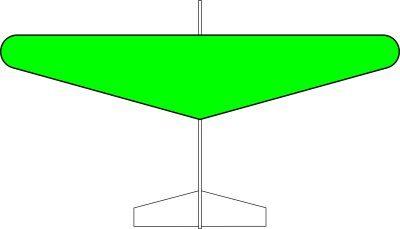 グライダー楕円翼タイプ(緑)