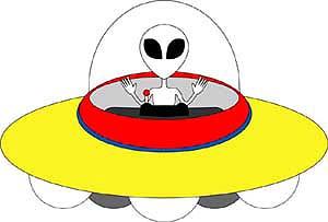 UFO2号機(円盤タイプ)