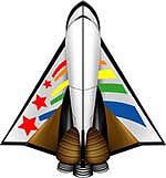 スペースシャトルタイプ宇宙船Cタイプ