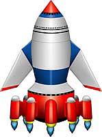 宇宙ロケットAタイプ